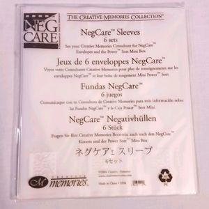🔥2/$15 Creative Memories   NegCare Sleeves